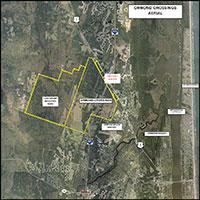 Ormond Crossings Aerial View
